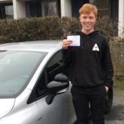 Elev med kørekort